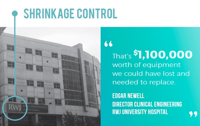 """That's $1,100,000 worth of equipment we could have lost and needed to replace."" -Edgar Newell"