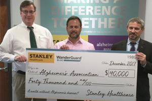 STANLEY Healthcare is now a proud supported of the Alzheimer's Association