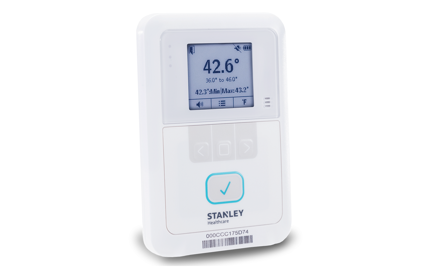 Aeroscout T5a T5b T5c Temperature Tags Stanley Healthcare