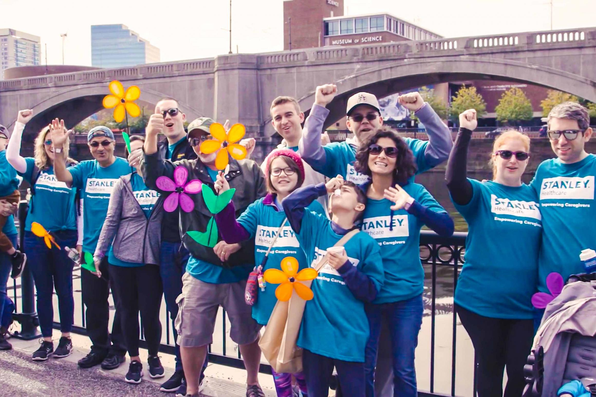 STANLEY Healthcare team at Walk to End Alzheimer's