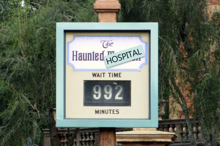 Wait times do matter—at Disney or at a hospital.