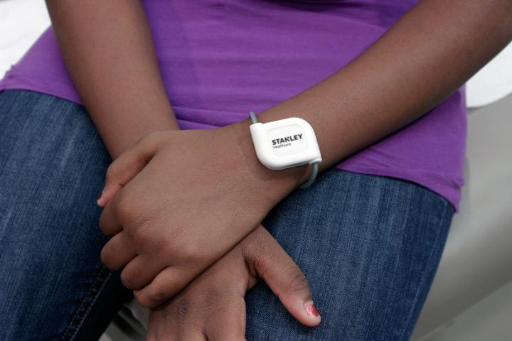Patient Tag on Wrist