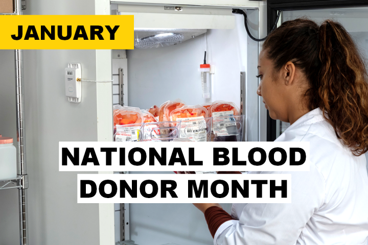 January National Blood Donor Month - STANLEY Healthcare